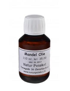 Sød Mandelolie fra NaturPoteket.dk