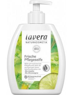 Lavera Frisk plejesæbe - kalk og citrongræs 250 ml  fra NaturPoteket.dk