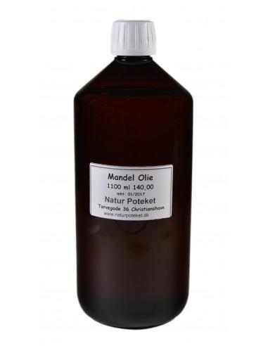 Mandelolie 1100 ml fra NaturPoteket.dk