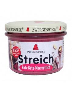 Smørepålæg Streich Paprika Chillie Zwergenwiese 180 g fra NaturPoteket.dk