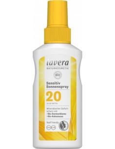 Lavera Sensitiv solcreme LSF 20, 100 ml fra NaturPoteket.dk