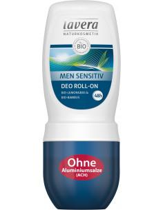 Lavera Men Sensitiv Deo Roll-On 50 ml fra NaturPoteket.dk