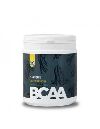 BCAA Exotic Lemon Plantforce 300 g fra NaturPoteket.dk