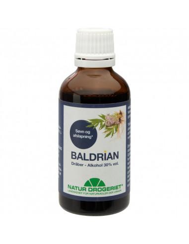 Baldrian dråber 50 ml - Natur Drogeriet fra NaturPoteket.dk