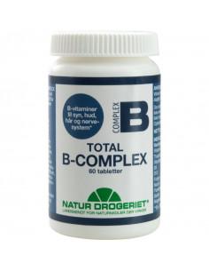 B-Complex Total 60 tabl. - Natur Drogeriet fra NaturPoteket.dk