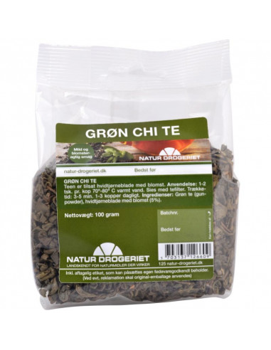 Grøn Chi te 100 g - Natur Drogeriet fra NaturPoteket.dk