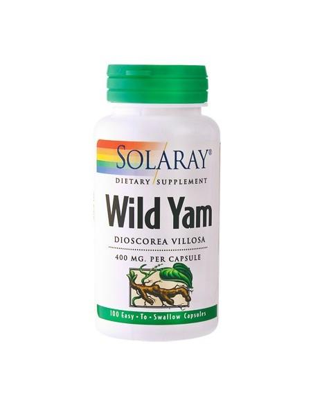 Solaray Wild Yam 100 kap.