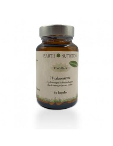 Hyaluronsyre 120 mg Earth Nutrition fra NaturPoteket.dk