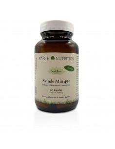Multi Kvinde Min 45+ - Earth Nutrition fra NaturPoteket.dk