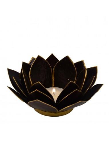 Lotus Stage / sort 14 cm fra NaturPoteket.dk