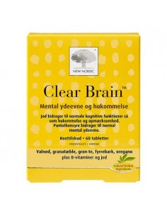 Clear brain 60tab