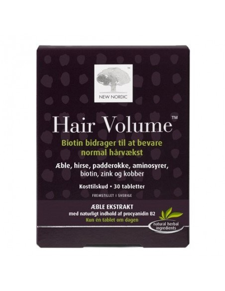 Hair Volume - 30 tab - New Nordic Healthcare