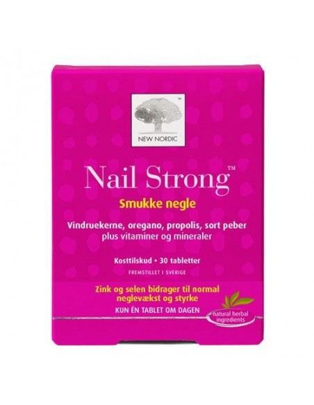Nail Strong 30 tab - New Nordic Healthcare