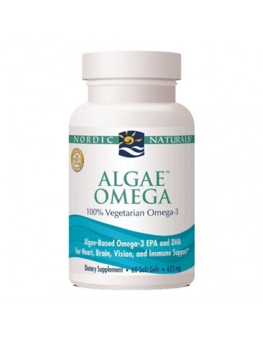 Algae Omega 3 - 60 kapsler - Nordic Naturals