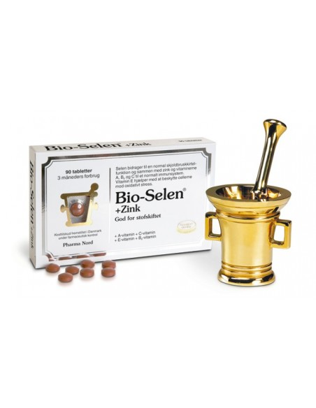 Bio-Selen Zink Pharma Nord 90 tabl. m. Seleno Precise