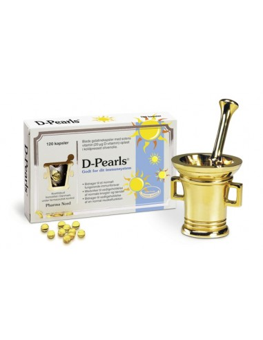 D-Pearls 20 mcg Pharma Nord 120 kap.